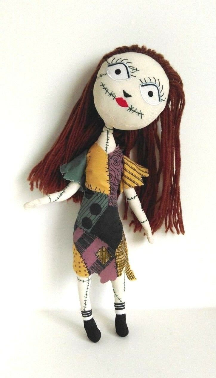 The Nightmare Before Christmas Sally Plush Posable Toy Soft 17 Inch - Rare