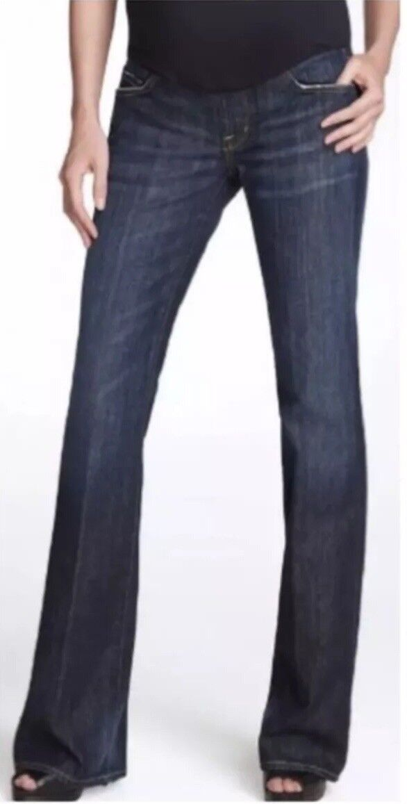 225 COH Citizens A Pea in Pod Women's 25 Maternity Full Panel Boot Cut Jeans