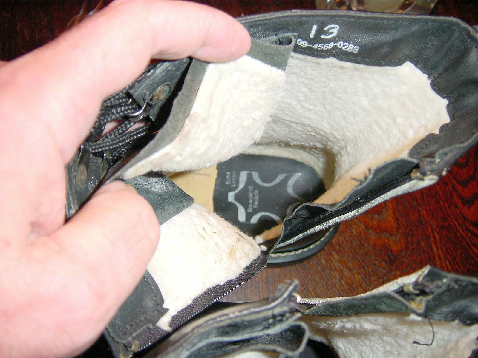 Warme, gefütterte Springerstiefel/Army Stiefel wie Gr.13 mit Schnellverschluss wie Stiefel neu 8213c0