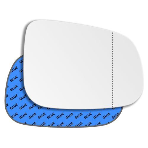 Droit Côté Conducteur Angle Large Miroir Verre Pour Jaguar XF 2007-2015 0131RAS