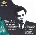 The Art of Yulian Sitkovetsky, Vol. 3 (CD, May-2006, Artek)