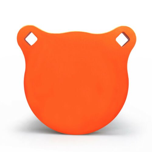 "Neon Orange Details about  /Highwild AR500 Steel Target 4/"" x 7//16/"" Gong Shooting Metal Target"
