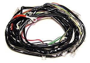 details about wire harness vinyl covered main triumph bsa 1971 72 t120 a65 uk made 54959629 Wiring Harness 93A050059