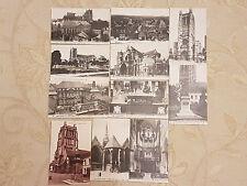 Lot Of 11 Antique Original Postcards - Saint Omer, France