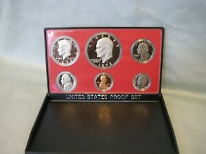 1978 United States Mint Proof Set 6 coin set in Original Box