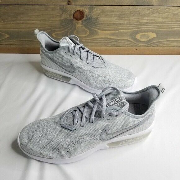 Nike Air Max Sequent 4, White Wolf Grey, AO4485-100, New in Box, US Men 10.5