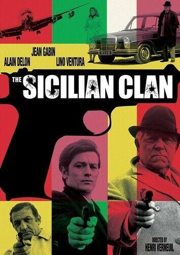 The Sicilian Clan (International Version, US Version) DVD NEW
