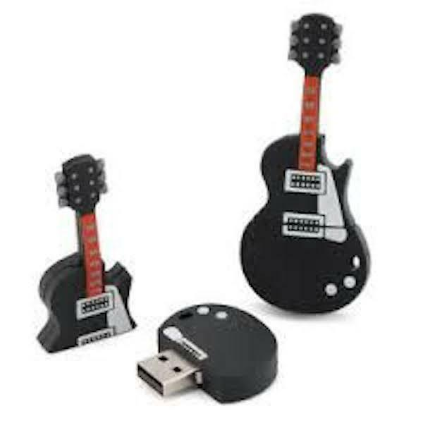 CLE USB 16GO ORIGINALE FUN GUITARE ELECTRIQUE - VENDEUR PRO FRANÇAIS LIV. RAPIDE