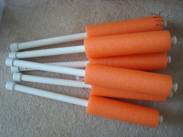 Catfish Noodle Jugs Orange  Weighted   lot of 10
