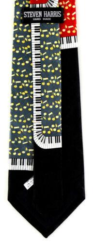 Piano Keyboard Art Mens Necktie Music Neck Tie Pianos Musicial Instrument