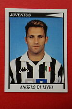 Panini Calciatori 1998/99 n. 153 JUVENTUS DI LIVIO DA EDICOLA CON VELINA