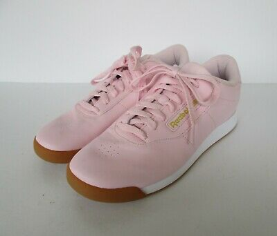 caravana Imaginativo Contribuyente  Reebok Classic Womens Pink & Gold Princess Sneakers Shoes 9.5 M | eBay