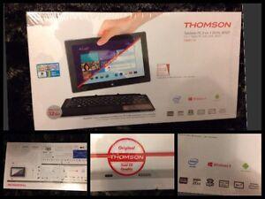Utile Portable Thomson Thbk1-10 10,1`` [argent] - Processeur : Intel Atom Neuf Les Clients D'Abord