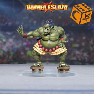 Wargames Wrestling BNIB Rumbleslam Orkishi