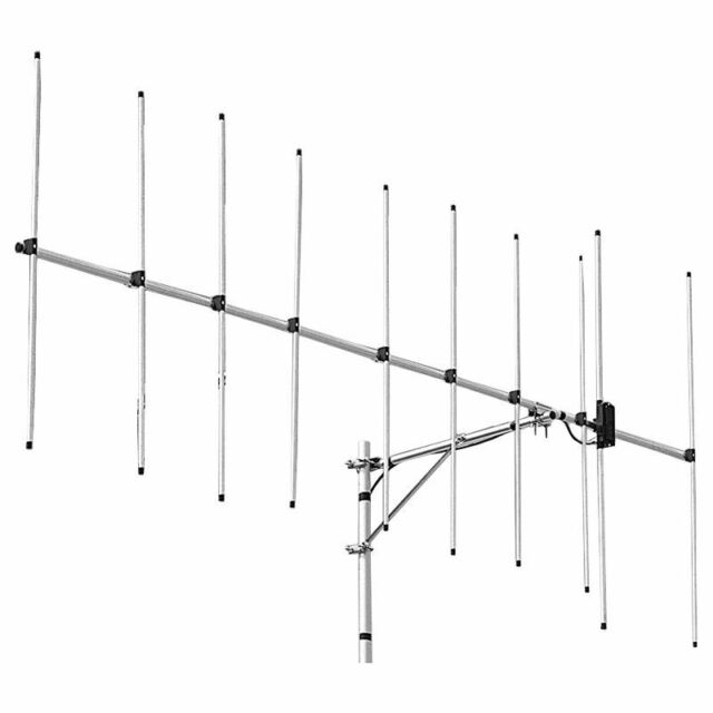 New Diamond A144S10R Single 144-146MHz 2m 11.6dBi 10 element Yagi//Beam Antenna