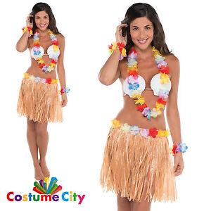 Image Is Loading Adults Womens Teens Tropical Hawaiian Hula Luau Fancy