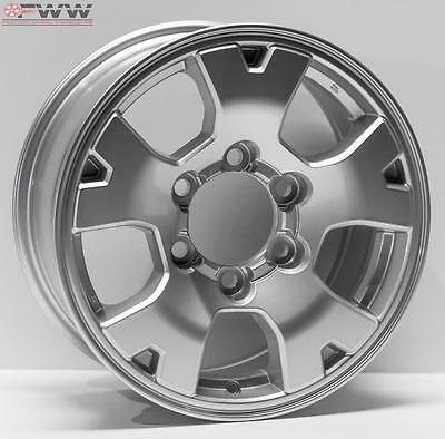 """NEW REPLACEMENT TOYOTA TACOMA 16"""" 2005-2015 SILVER WHEEL RIM 69461"""