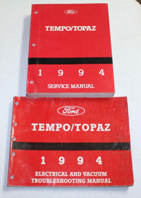 1994 Ford Tempo  Topaz Service Manual  U0026 Wiring Diagram