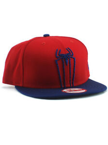 a1b85818668 New Era Amazing Spider-Man 9fifty Snapback Hat Adjustable Marvel ...