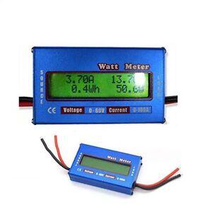 Digitale-LCD-Akku-Batterie-Balancen-Power-Analyzer-Watt-Meter-60V-100A-NEU