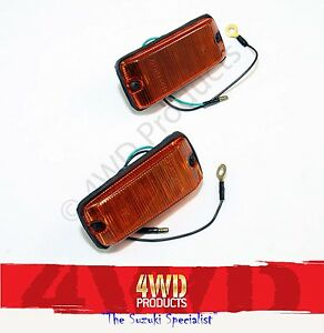 Side-Guard-Blinker-SET-Suzuki-Sierra-Maruti-Holden-Drover-81-92