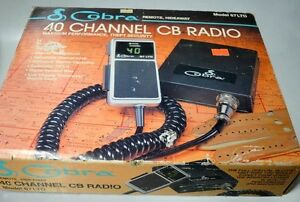 Cobra model 67 ltd 40 channel cb radio remote hideaway used image is loading cobra model 67 ltd 40 channel cb radio sciox Gallery