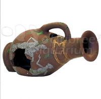 Vase/vessel/urn Roman Ruin Resin Aquarium Fish Cave Ornament