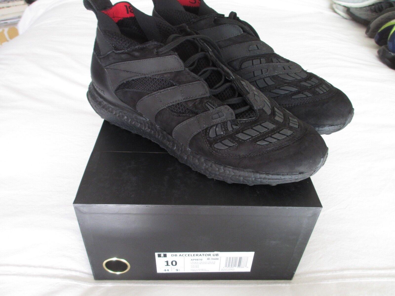 Adidas d beckham accelerator ultra auftrieb ap9870 männer schwarz uns 10 44 euro schwarz männer 1f27b6