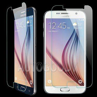 Ultra Slim Premium HD Tempered Glass Screen Protector for Samsung Galaxy S6