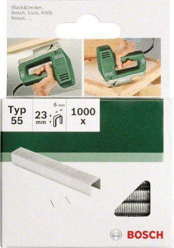 Bosch 2609255829 23 mm Type 55 étroit Couronne Staples Pack de 1000