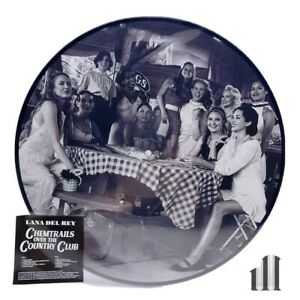 Lana Del Rey Chemtrails Over The Country Club LP Picture Vinyl