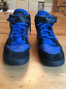 Details about MENS NIKE iD ZOOM AIR 6.0 HIGHTOP SIZE 13 BlueBlack #418441 991 NICE