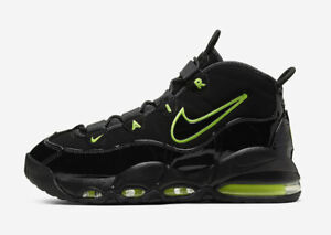 nike uptempo olive green