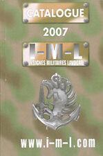 Catalogue 2007, Insignes Militaires LAVOCAT, 1280 pages