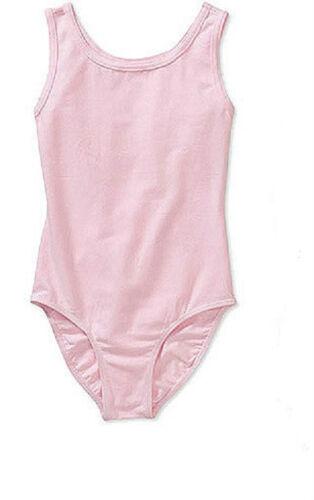 14-16 Gilda Marx 7234564 Light Pink Girl/'s Size Young Junior Tank Leotard