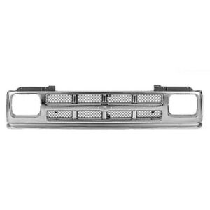 91 94 Chevy S 10 Pickup Truck Grill Grille Assembly Chrome Gm1200326 15701945 Ebay