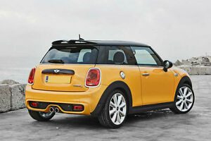 New Rear Roof Spoiler Wing Lip For Bmw Mini Cooper F56 S Jcw Style