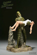 SIDESHOW CREATURE From The BLACK LAGOON POLYSTONE DIORAMA STATUE Figure Bust TOY
