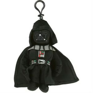 Star-Wars-Darth-Vader-7-034-Plush-Coin-Backpack-Clip