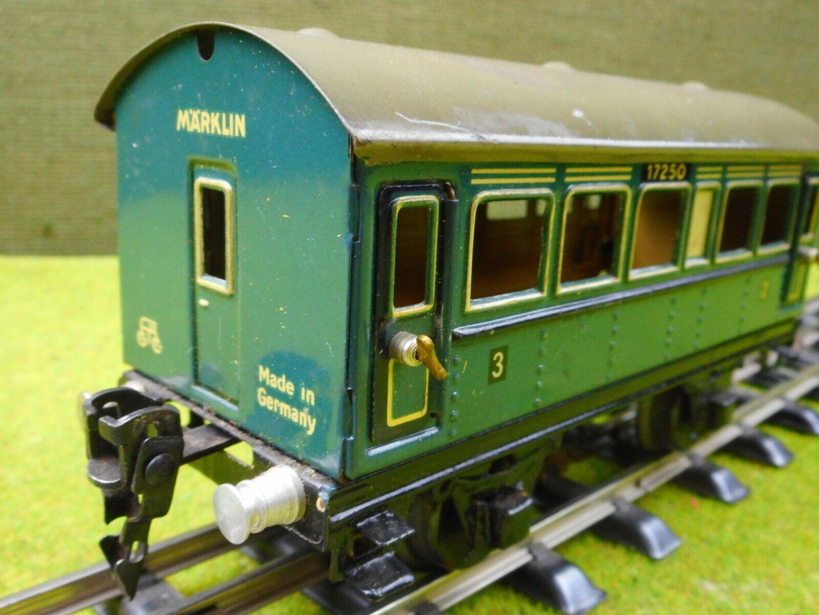 D14 Märklin pista 0 vehículos implicados 17250 blu verde 2. 3. clase chapa