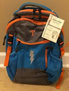New Pottery Barn Kids Colton Lightening Backpack Bright