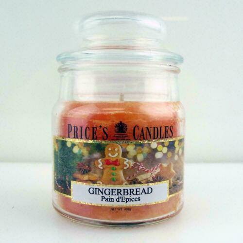 Price`s Patent Candles Limited Small Jar 100 g Gingerbread