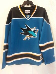 02bc30144 Reebok Women s Premier NHL Jersey San Jose Sharks Team Teal sz 2X