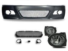 M3 Look Stoßstange für BMW E46 Limousine Coupe Cabrio + Nebelscheinwerfer