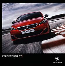 Peugeot 308 GTi 12 / 2015 catalogue brochure