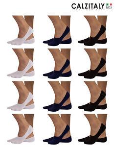 6 Paia di calzino donna sanitario a bassa compressione 100/% cotone