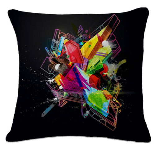 Nordic Pillow Cover Psychedelic Geometric Sofa Cushion Covers Throw Pillow Case