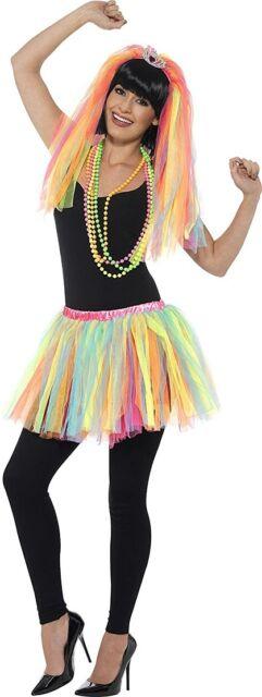 Kit Fiesta Princesa Accesorios Disfraz de Carnaval Años 80 Ps 05479