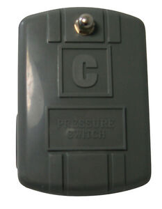 PRESSURE SWITCH 40/60 by CAMPBELL MFG. MfrPartNo PS-C