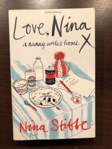1 of 1 - LOVE NINA, A NANNY WRITES HOME by NINA STIBBE- PENGUIN - UK POST £3.25*PROOF*